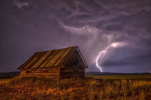 雷 雨 関係 感電