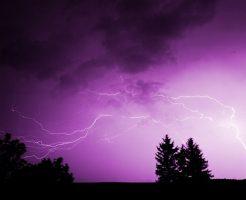 雷 放電 種類