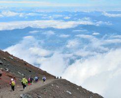 富士山 雷 登山