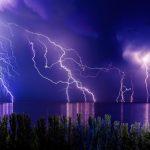 世界規模で見る雷の発生!多いところから少ないところまで!